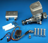 Lastest DLE Gasoline Engine DLE 55RA 55cc DLE55RA For RC Model Airplane