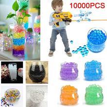 1000 шт. для пистолета игрушечные пули растущая вода мяч пуля игрушка кристалл почвы гель полимерная вода бусины игрушка Красивый Декор для дома