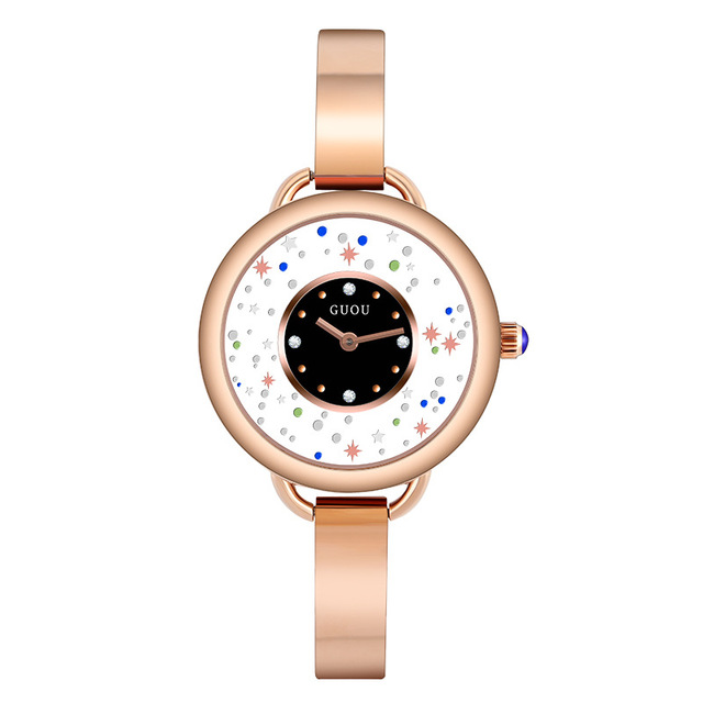 New Women Rose Gold Quartz Watch Ladies Stainless Steel Watchband High Quality Casual Waterproof Wristwatch Clock Gift for Wife | Fotoflaco.net