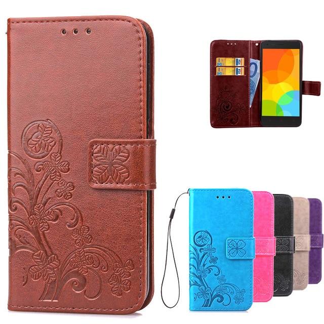 Bìa Xiaomi Redmi 2 Trường Hợp Sang Trọng Da Lật Trường Hợp Bìa cho Xiaomi Redmi 2 Redmi2 Phone Case Với Thẻ Chủ Cover Quay Lại