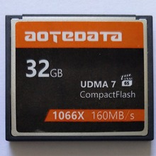 AOTEDATA ขวา 1000X ขายอุตสาหกรรม Compact Flash CF 32GB 64GB 128GB 256GB สำหรับ Canon กล้อง SLR สำหรับ Nikon สำหรับ SONY