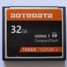 Распродажа, промышленная компактная флеш карта AOTEDATA Right 1000X объемом 32 ГБ, 64 ГБ, 128 ГБ, 256 ГБ, карта памяти для зеркальных камер Canon, Nikon, SONY