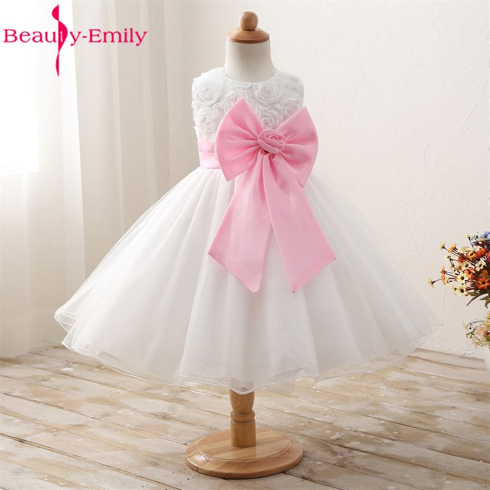 Evening Gown Children Tulle   Flower     Girl     Dresses   For Weddings 2017 First Holy Communion Princess   Dress   Pageant Prom Formal Wear