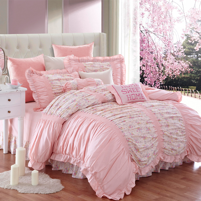 Kosmos Bedding Princess Bedclothes 100 Cotton Bedding Set