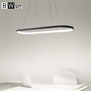 Image 3 - Bwart الحديثة أسود قلادة معلقة ضوء الإنارة الثريا loft الصناعي بقيادة مصباح السرير غرفة الطعام المطبخ