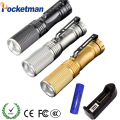 CREE Q5 Mini LED Flashlight Led 2000 Lumens Light Zoomable LED Torch 3-Mode Lanterna LED Penlight Linternas Tatica
