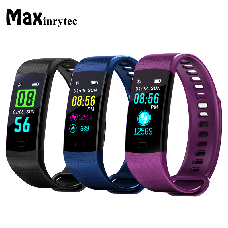 Y5 bande intelligente étanche Bracelet intelligent Bluetooth avec traqueur de fréquence cardiaque traqueur de Fitness Bracelet intelligent Miband 2 10 pcs/Lot-in Bracelets connectés from Electronique    1