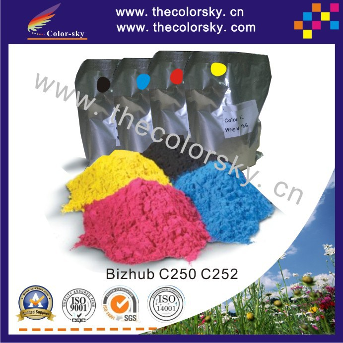 (TPKMHM-C250) premium color copier toner powder for Konica Minolta Bizhub TN-210 C250 C252 C 250 252 1kg/bag/color Free by FedEx geox полусапоги geox