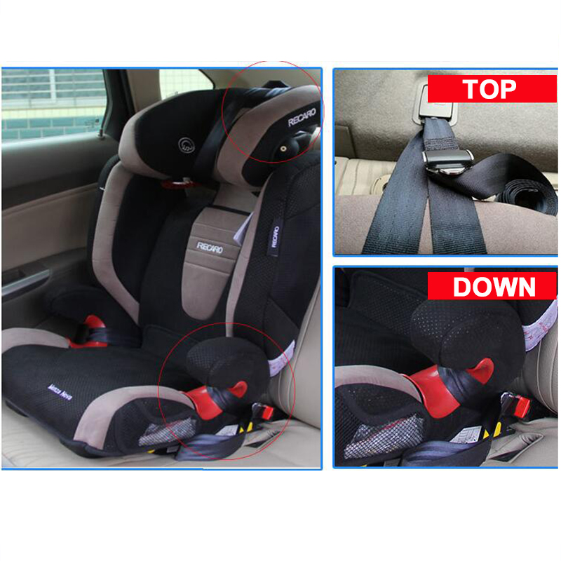 ISOFIX LATCH Belt Connector Interface Connection For Baby Car Safety