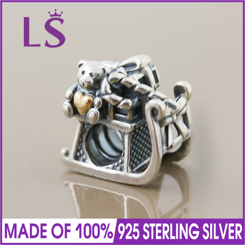 Home & Garden Shop For Cheap Ls Jewelry 925 Silver Santas Sleigh Charms Fits Bangle Bracelet Beads Original Sterling Silver Jewelry For Women Gifts