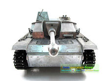 100% Metal Mato 1/16 Stug III RC Tank Infrared Barrel Recoil Meta Color 1226 KIT