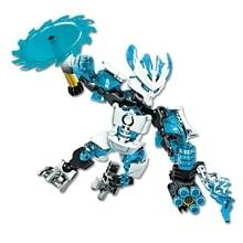 купить Child Protection Ice Biochemical Warrior лего BionicleMask of  Light XSZ 706-5 Block is compatible with Bionicle 70782 по цене 425.03 рублей