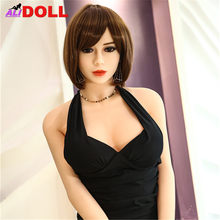 New 140cm/148cm/158cm/165cm Beauty Real Silicone Sex Dolls Big Boobs Real Dolls Sex Toys Rubber Woman Sex Dolls Oral Anal Vagina(China)