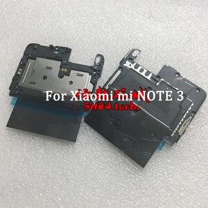 Для Xiaomi Mi Note 3 задняя рамка чехол крышка на материнскую плату и WIFI антенна с NFC запасные части для Xiaomi Mi Note 3