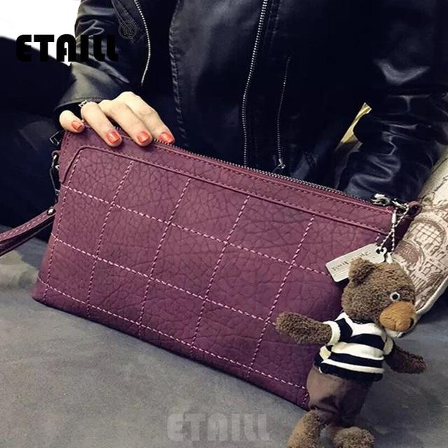 Hotsale Vintage Casual Small Ladies Party Purse Women Plaid Envelope Clutch Famous Designer Shoulder Messenger Brossbody Bag