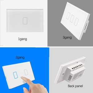 Image 5 - 2019 Broadlink TC2 US/AU version 1 2 3 Gang WiFi Home Automation Smart Remote Control Led Light Switche Touch Panel via RM Pro+