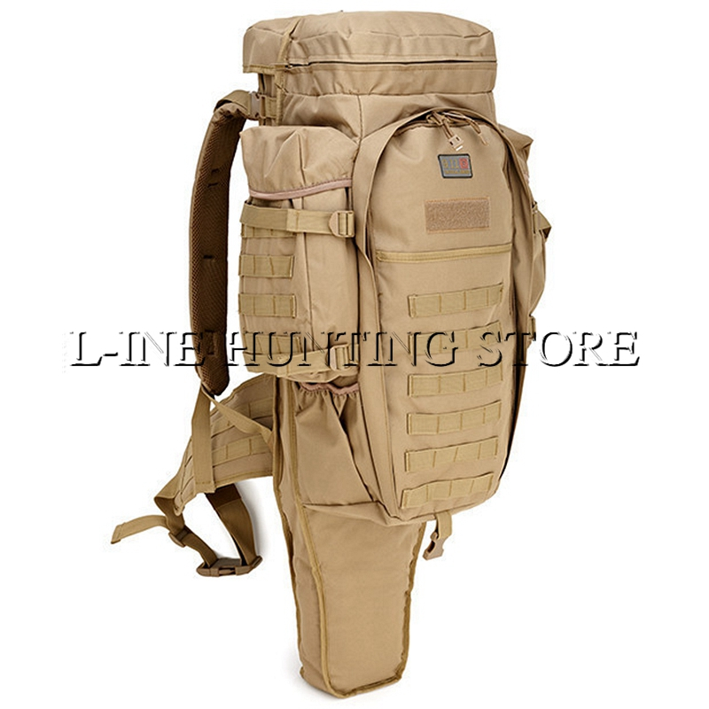 Multicam Black Army Green Large Outdoor Military Tactical Backpack Camping Hiking Rifle Bag Trekking Sport Travel Climbing Bags usmc army men women outdoor military tactical backpack camping hiking rifle bag trekking sport travel rucksacks hunting bags
