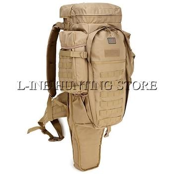 Multicam negro ejército verde grande mochila táctica militar para exteriores Camping senderismo Rifle bolsa senderismo deporte de escalada bolsas
