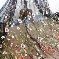 Лес вышивка кружевной ткани аксессуары платье DIY Материал одежда фон ткани