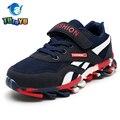 Tutuyu kids shoes niños y niñas transpirable nueva moda sólido 2017 niños shoes niños de la marca deportiva zapatillas de chicos