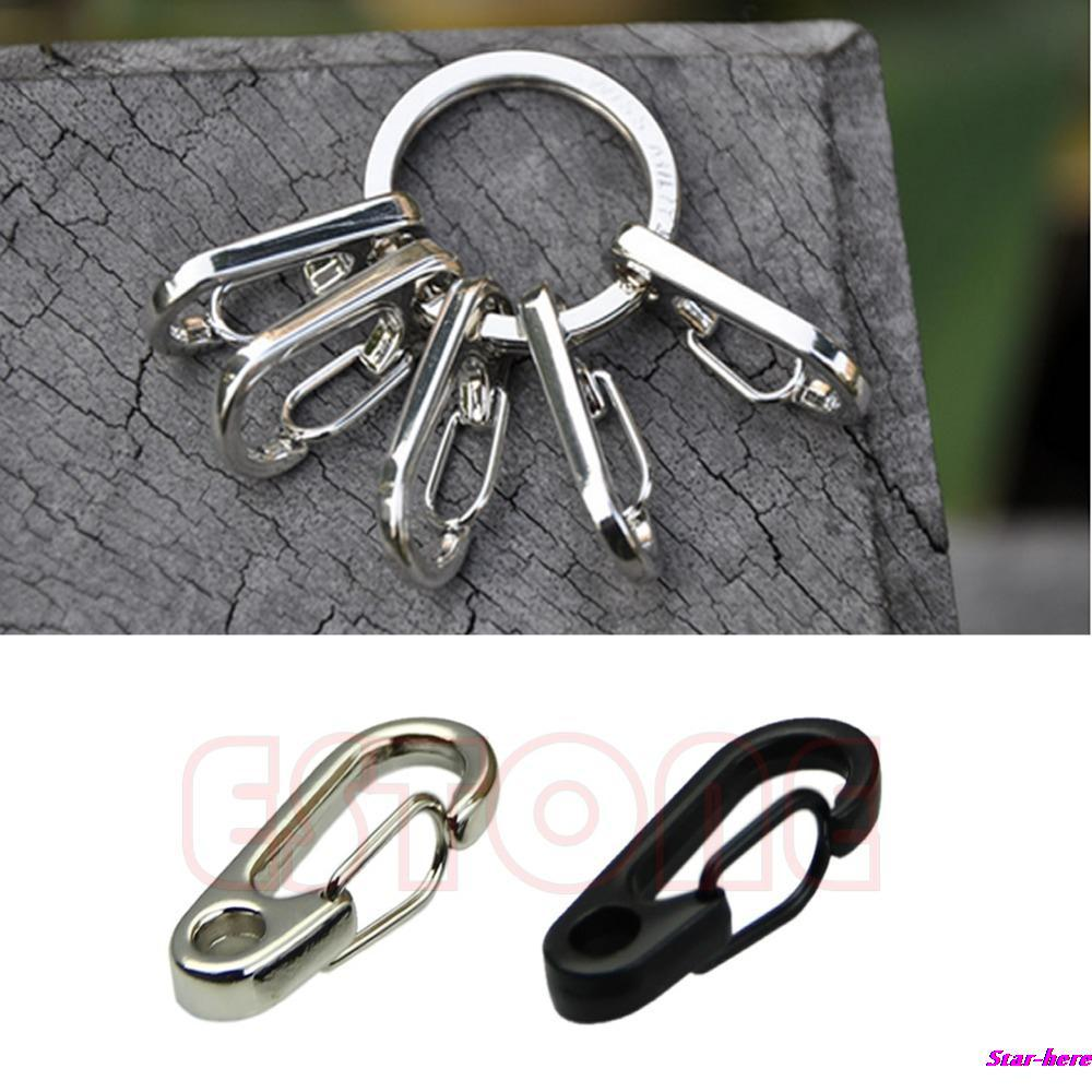 10pcs Lot Spring Hook Clip Snap Shackle Stainless Steel Key Chains Otomobil Head Lamp Set Su Ty 20 6089 01 6b Toyota Land Cruiser Prado 2000 2001 2002 Lights Clasps Style Fast