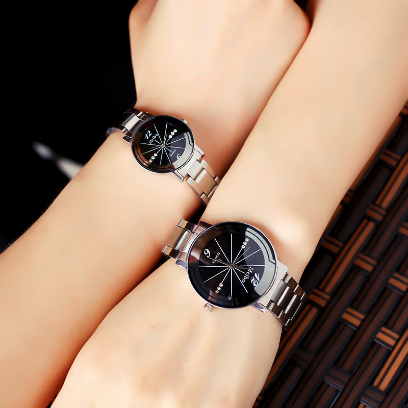 Dropshipping 2018 Brand Watch Men Watch Women Full Steel Men's Watch Women's Watches Men Clock Relogio Reloj Hombre Montre Homme