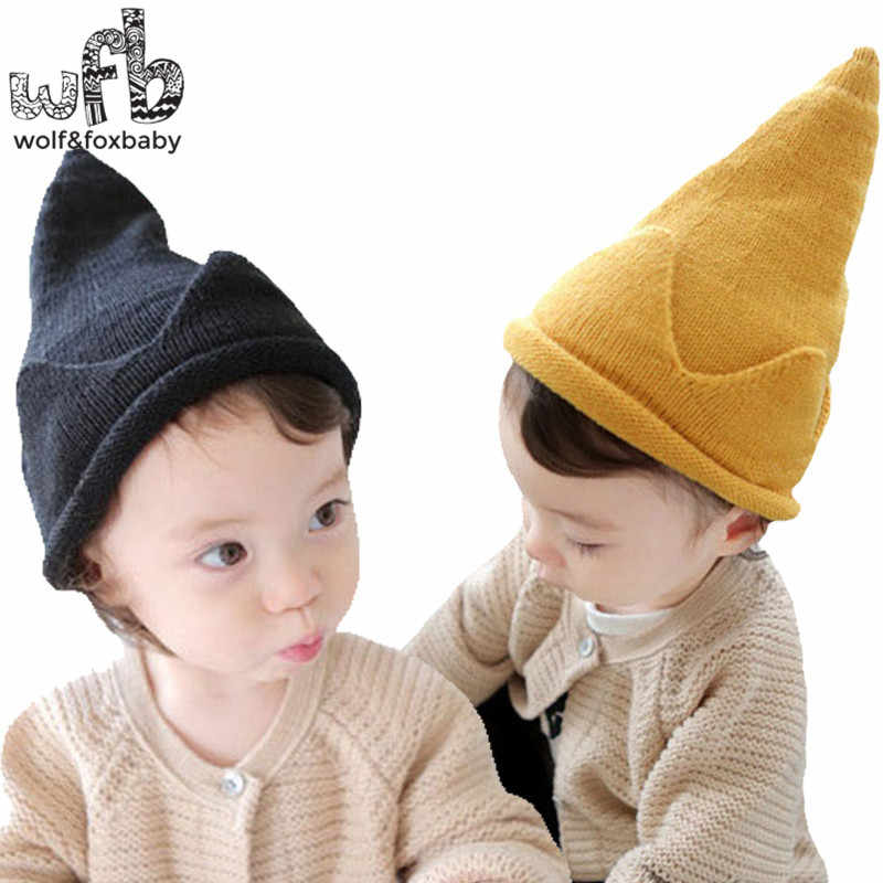c88b83935db833 Detail Feedback Questions about Retail 40 50CM round cap Crown Knitted  woolen cap warm fashion baby children infant kids spring autumn fall winter  on ...