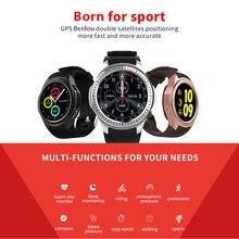 Frequência Cardíaca Do Bluetooth Relógio Inteligente Com Sangue Imprensa Bússola Altitude Velocidade Rastreador Relógio GPS Ciclismo Multi Sports Activity Monitor