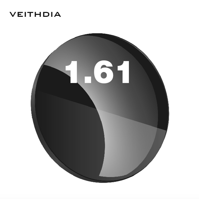 1.61 Index Sunglasses Single Vision For Myopia 4.00-7.00 Degree Aspherical Sunglasses