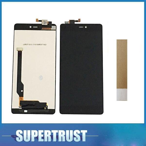 Pour Xiao mi 4 C mi 4C mi 4 C mi 4 mi 4 mi 4i mi 4 je mi 4S mi 4 S LCD affichage + Écran Tactile Digitizer Assemblée Noir Couleur avec du ruban adhésif