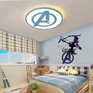 Image 5 - Luminaire décoratif dintérieur Rom, noir/bleu, luminaire de plafond, idéal pour la chambre à coucher ou la chambre dun enfant, plafond moderne à LEDs