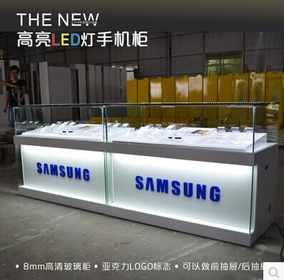 Merveilleux Custom Retail Store Cabinet Mobile Phone Display With LED Lighting Mobile  Phone Display Desk Mobile Phone