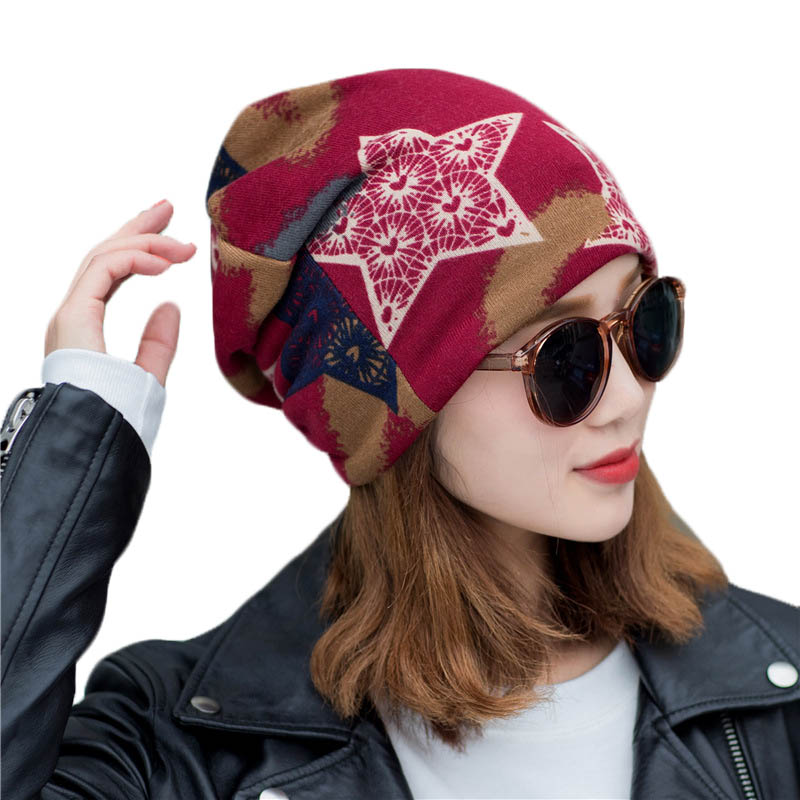 New Spring Autumn Cotton Hat For Men Women Multifunctional Warm Hats Unisex   Beanies   Casual Cap Bonnet Female   Skullies     Beanies