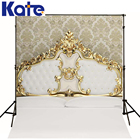 Kate 8x8ft Vintage Wallpaper Newborn Backgrounds Tufted Headboard Photography Backdrops For Child Photo Shoot