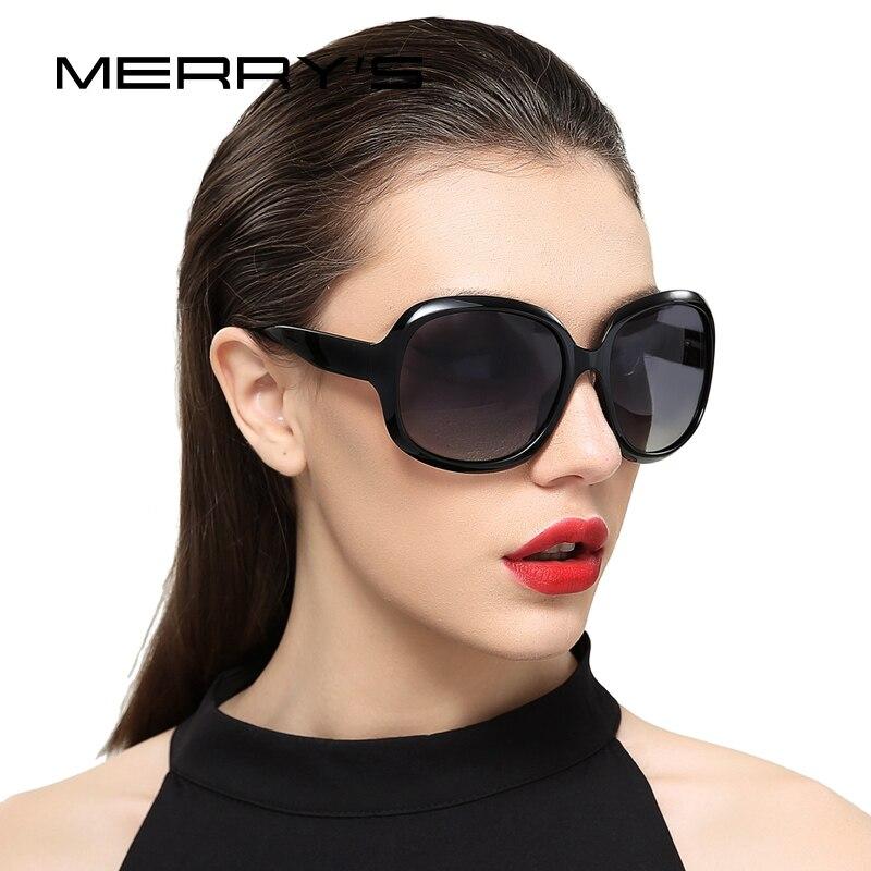 MERRY'S diseño Retro mujeres gafas de sol polarizadas señora conducción gafas de sol de protección UV 100% S'6036