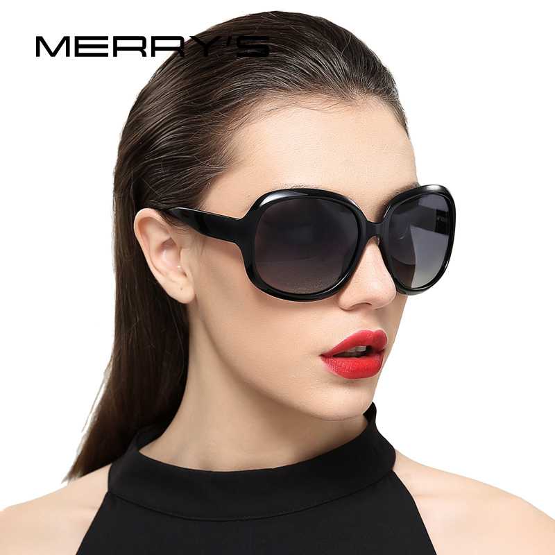 MERRYS DESIGN Women Retro Polarized Sunglasses Lady Driving Sun Glasses 100% UV Protection S6036