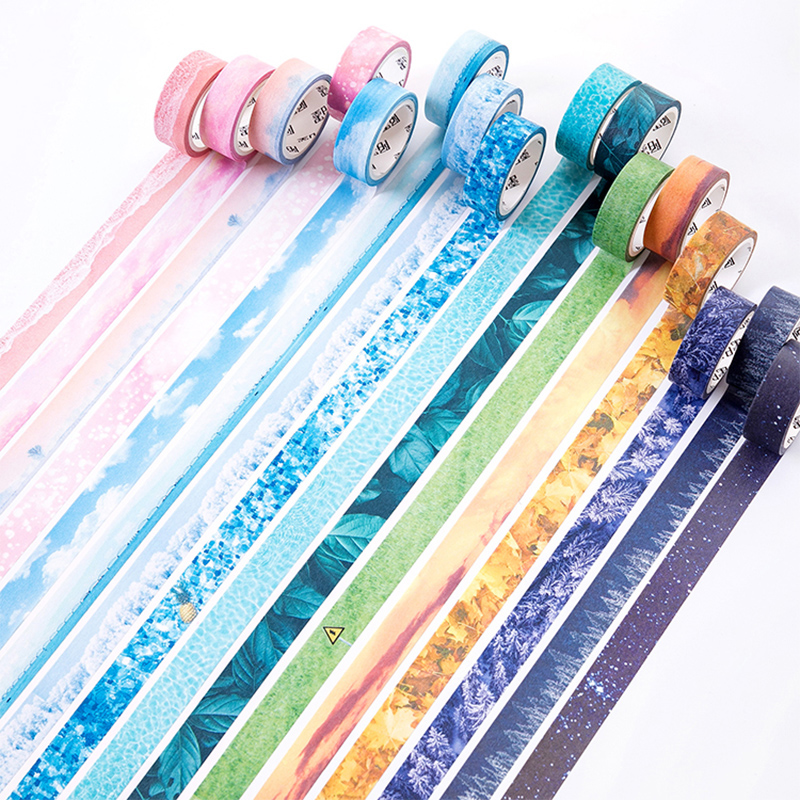 Romantic Light And Shadow Washi Tape Decoration Scrapbooking Sticker Label Masking Tape School Office Supply