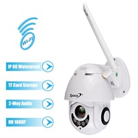 1080P Wireless WiFi IP Camera Onvif Full HD 2MP PTZ Surveillance Dome Outdoor IP66 Waterproof CCTV Camera exterior cam ip