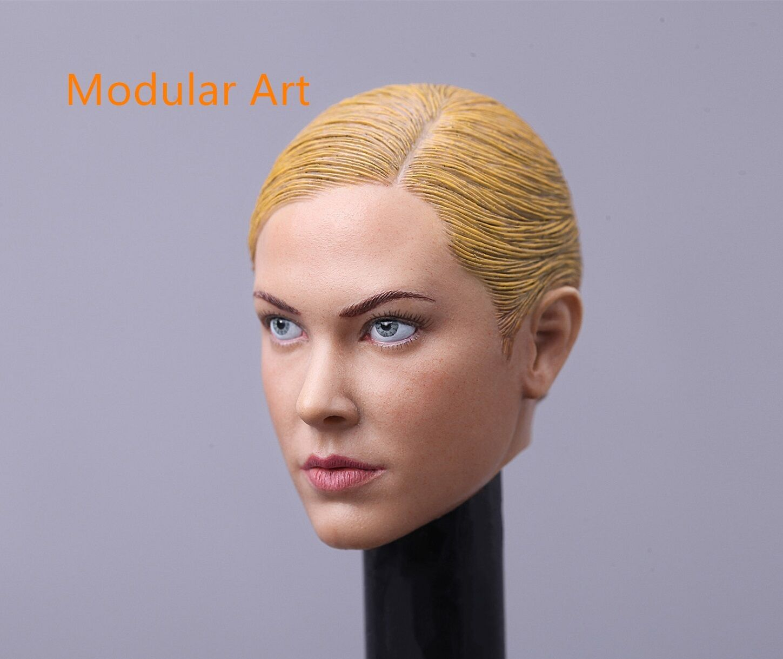 IN STOCK 1//6 Kristanna Loken head sculpt 2.0 Terminator 3 T-X for HotToys Phicen