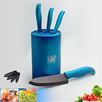 Hot Sale Kitchen Supplies 6 Inch Knife Block High Grade Multifunctional Large Capacity Ceramic Knife Tool