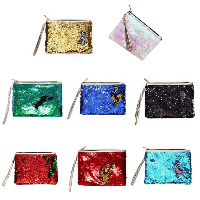 Der GüNstigste Preis Kreative Farbe Reversible Pailletten Kosmetische Fall Kosmetik Tasche Mädchen Kinder Kinder Kosmetik Tasche Schule Supplie Stationey Zu Den Ersten äHnlichen Produkten ZäHlen