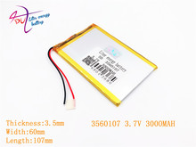 best battery brand 3560107 3.7V 3000MAH 3560105 3560110 Cool than talk 7 x 7 xs U51GT dual quad core eight nuclear batteries are