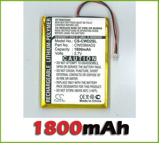Wholesale Battery For iPOD / MP3 / PMP for COWON D2 2gb, D2 4gb, D2 Plus 16gb new free shipping
