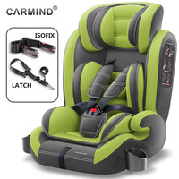 Carmind Child Car Safety Seat For 9 Months 12 Years Old With Soft Connector ISOFIX and LATCH Forward facing Universal Car Seats