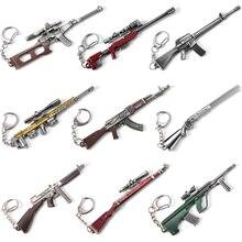 Vicney New Arrival PUBG Key Chain Gun Keychains For Men Dota Keyring Ring Boyfriend Gift AK47 CSGO Keychain