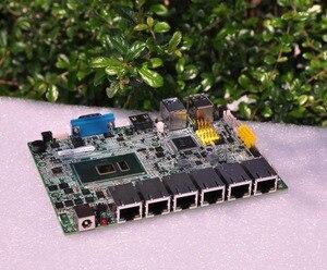 Image 5 - Бесплатная доставка Qotom Q555G6 Q575G6 7 й промышленный шлюз для ПК межсетевой маршрутизатор для pfSense   Intel i5 7200U i7 7500U AES NI