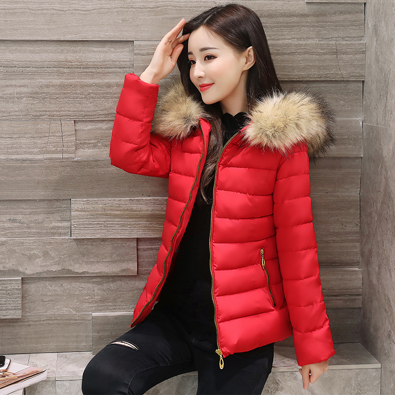 Winter Jacket Women New Fashion Casual Slim Nagymaros Hooded Thick Warm Padded Down Cotton Parkas 2017Outwear Coat Plus Size 4XL m 4xl 2015 new fashion women winter down cotton padded coat female long slim thick jacket hooded zipper pocket outwear zs355