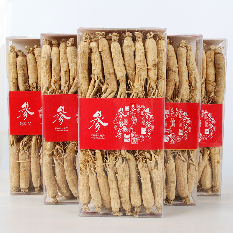 6 years ginseng Changbai Mountain Dried Ginseng Root Insam Organic Herb Panax Chinese Herb