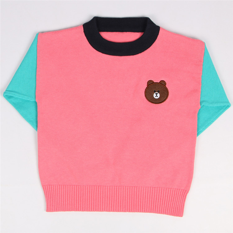 a46b19787 Autumn Winter Brown Bear Series Baby Sweaters Children 2018 Cotton ...