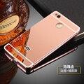 3x fuands xiaomi redmi redmi 3 pro redmi 3 s bolso del teléfono colorido Aluminio Cuadro Delimitador de Metal del Borde de Plástico Cubierta de Shell Caso
